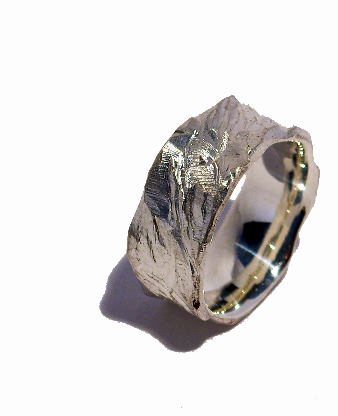 Strukturring, Silber, Ring, Struktur, Goldschmied, Basel, Spalenberg, Schmuck