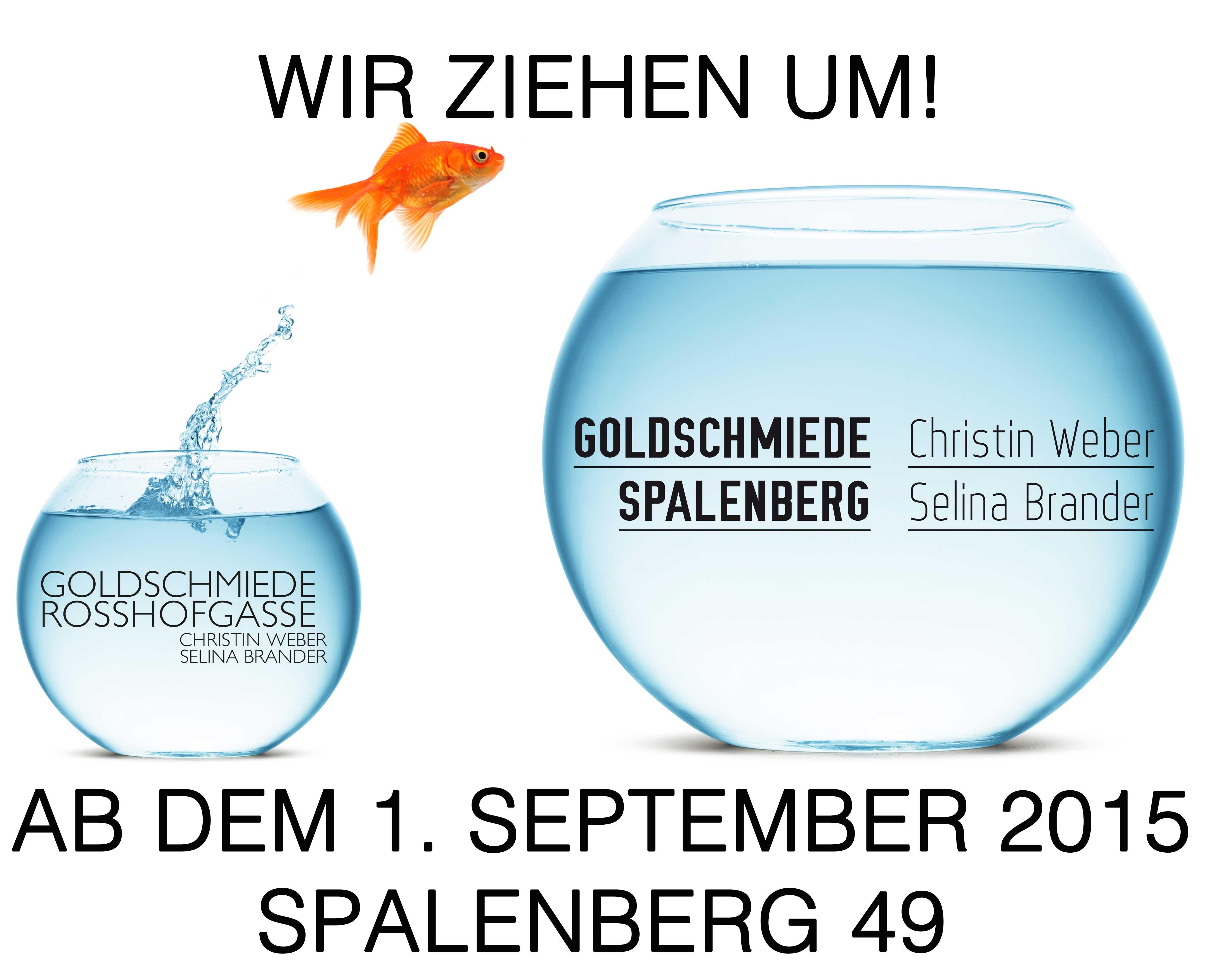 Umzug, Spalenberg, Rosshofgasse, Goldschmied, Basel, Schmuck, Trauringe